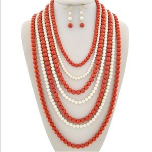 Jewelry - Necklace & Earring Set-Brand New